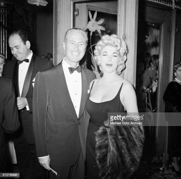 Barbara Nichols with guest attends an event in Los AngelesCA