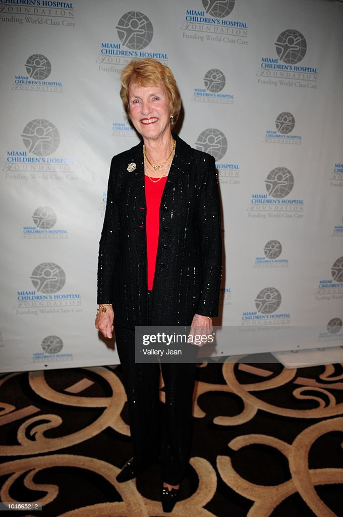 Barbara Nicklaus, wife of golfer Jack Nicklaus, attends the Miami