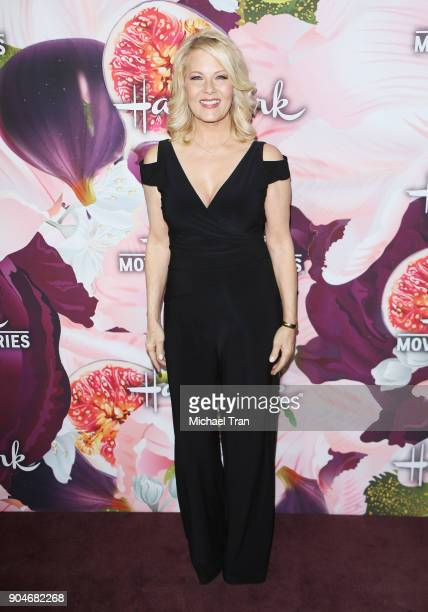 Barbara Niven arrives to the Hallmark Channel and Hallmark Movies and Mysteries Winter 2018 TCA Press Tour held at Tournament House on January 13...