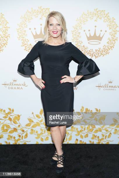 Barbara Niven attends Hallmark Channel And Hallmark Movies And Mysteries 2019 Winter TCA Tour at Tournament House on February 09 2019 in Pasadena...