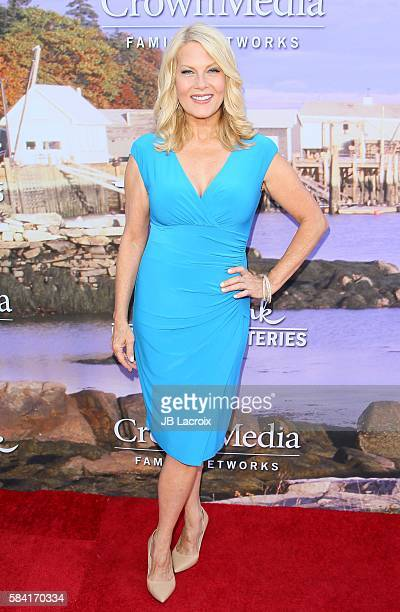 Barbara Niven attends the Hallmark Channel and Hallmark Movies and Mysteries Summer 2016 TCA press tour event on July 27 2016 in Beverly Hills...