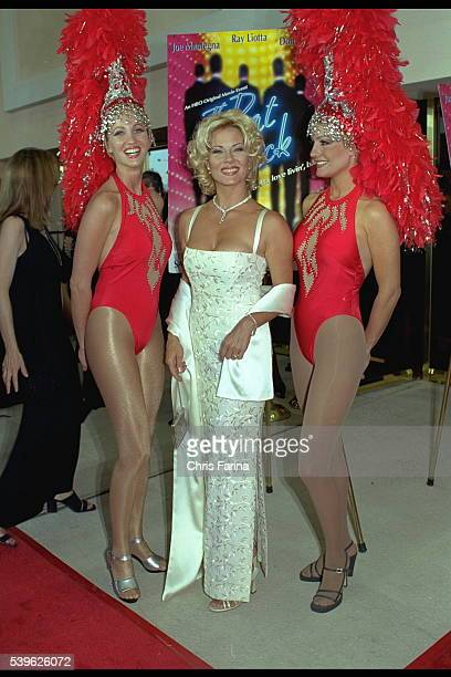 Barbara Niven costar of the movie and the Casino dancers Julia Mc Farland and Stephanie Golemme
