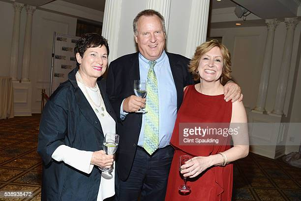 Barbara Paley Charlie Anderson and Gina Pollara attend The Municipal Art Society of New York 2016 Jacqueline Kennedy Onassis Medal at The Plaza Hotel...