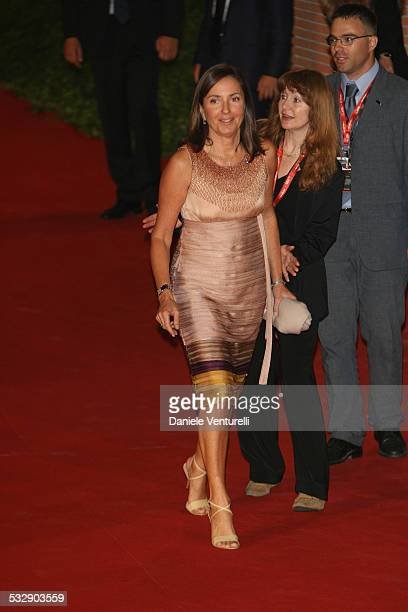 Barbara Palombelli and Francesco Rutelli during 1st Annual Rome Film Festival Fur An Imaginary Portrait of Diane Arbus Premiere at Auditorium Parco...