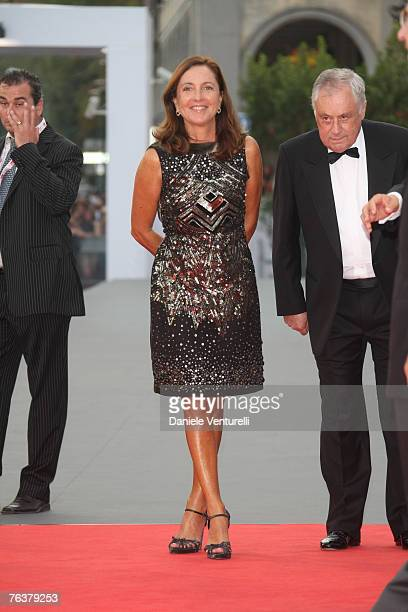 Barbara Palombelli arrives for the Opening Ceremony and the Atonement Premiere at the 64th Annual Venice Film Festival on August 29 2007 in Venice...