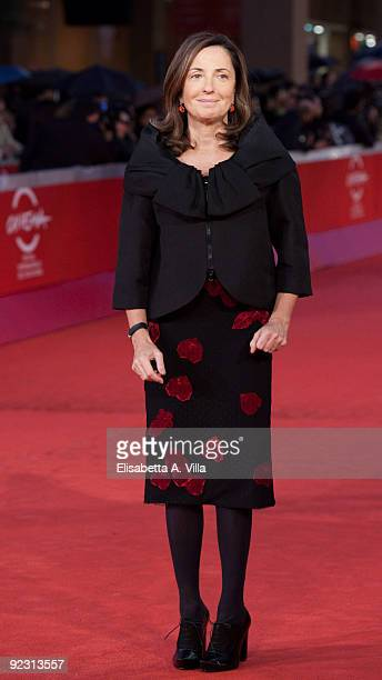 Barbara Palombelli attends the Official Awards Ceremony during Day 9 of the 4th International Rome Film Festival held at the Auditorium Parco della...
