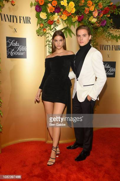 Barbara Palvin and Dylan Sprouse attend as Vanity Fair and Saks Fifth Avenue celebrate Vanity Fair's BestDressed 2018 at Manhatta on September 12...