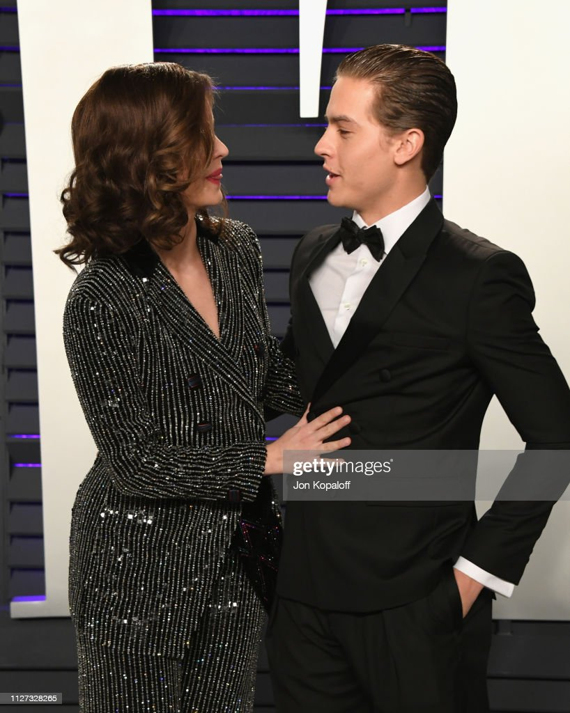 Barbara Palvin And Dylan Sprouse Attend The 2019 Vanity Fair Oscar News Photo Getty Images
