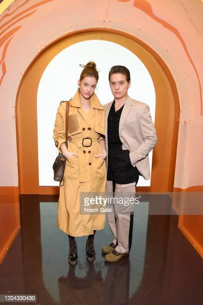 Barbara Palvin and Dylan Sprouse attend The Launch of Solar Dream hosted by Fendi on February 05 2020 in New York City