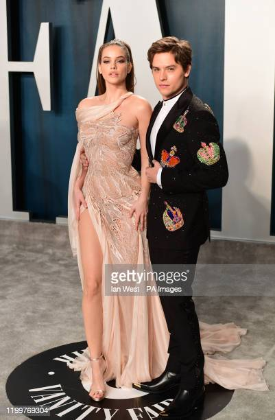 Barbara Palvin and Dylan Sprouse attending the Vanity Fair Oscar Party held at the Wallis Annenberg Center for the Performing Arts in Beverly Hills...