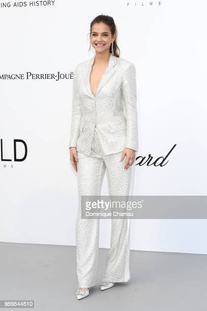 Barbara Palvin arrives at the amfAR Gala Cannes 2018 at Hotel du CapEdenRoc on May 17 2018 in Cap d'Antibes France