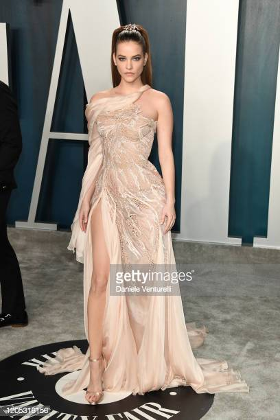 Barbara Palvin attends 2020 Vanity Fair Oscar Party Hosted By Radhika Jones at Wallis Annenberg Center for the Performing Arts on February 09 2020 in...