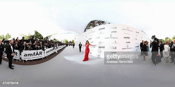 Barbara Palvin attends amfAR's 22nd Cinema Against AIDS Gala Presented By Bold Films And Harry Winston at Hotel du CapEdenRoc on May 21 2015 in Cap...