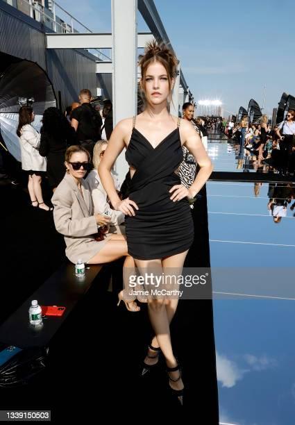 Barbara Palvin attends DUNDAS x REVOLVE NYFW Runway Show Casa Cipriani on September 08, 2021 in New York City.