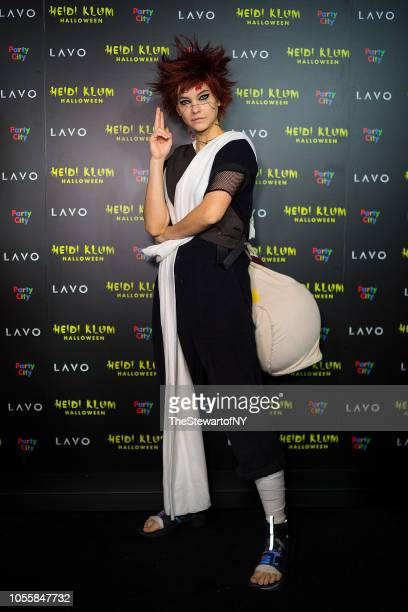 Barbara Palvin attends Heidi Klum's 19th Annual Halloween pParty at Lavo on October 31 2018 in New York City