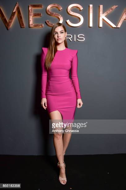 Barbara Palvin attends Messika cocktail as part of the Paris Fashion Week Womenswear Spring/Summer 2018 on September 27 2017 in Paris France