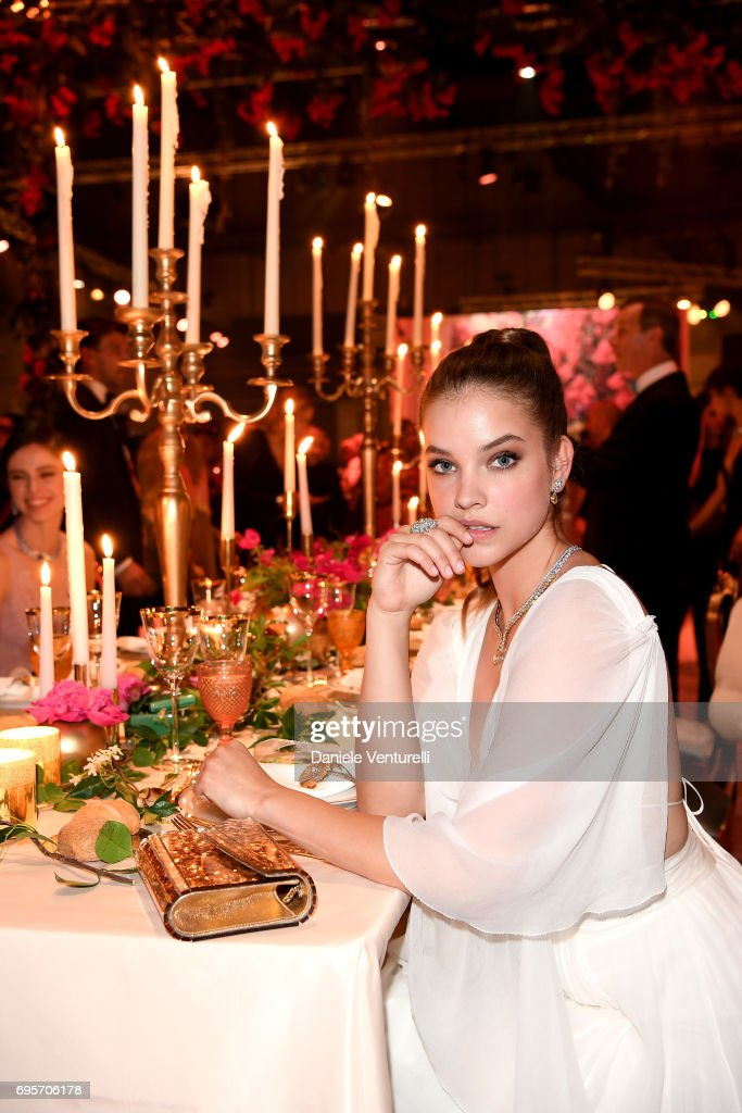 Barbara Palvin attends Piaget Sunlight Journey Collection Launch on June 13, 2017 in Rome, Italy.