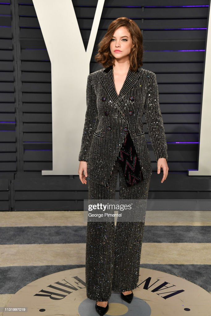 Barbara Palvin Attends The 2019 Vanity Fair Oscar Party Hosted By News Photo Getty Images