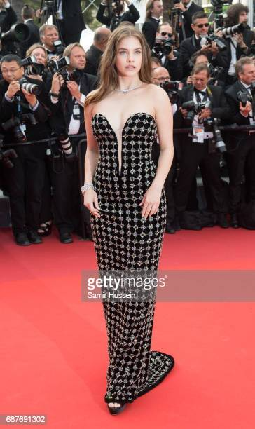 Barbara Palvin attends the 70th Anniversary screening during the 70th annual Cannes Film Festival at Palais des Festivals on May 23 2017 in Cannes...