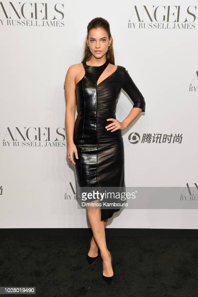 Barbara Palvin attends the 'ANGELS' by Russell James book launch and exhibit hosted by Cindy Crawford and Candice Swanepoel at Stephan Weiss Studio...