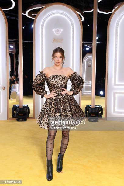 Barbara Palvin attends the Calzedonia Leg Show 2019 on October 08, 2019 in Verona, Italy.