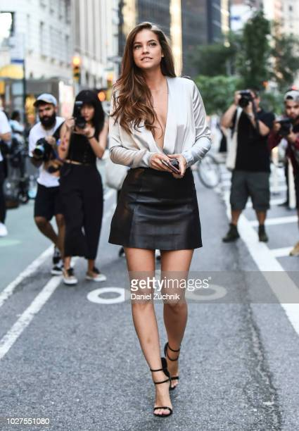 Barbara Palvin attends the casting for the 2018 Victoria's Secret Show in Midtown on September 5 2018 in New York City