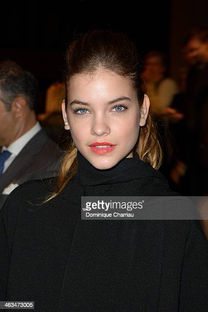 Barbara Palvin attends the Dior Homme Menswear Fall/Winter 20142015 show as part of Paris Fashion Week on January 18 2014 in Paris France