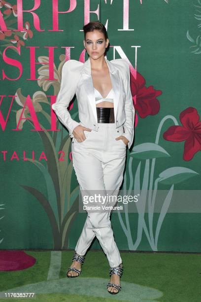 Barbara Palvin attends the Green Carpet Fashion Awards during the Milan Fashion Week Spring/Summer 2020 on September 22, 2019 in Milan, Italy.