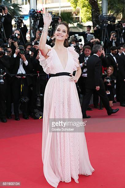 Barbara Palvin attends the Julieta premiere during the 69th annual Cannes Film Festival at the Palais des Festivals on May 17 2016 in Cannes France