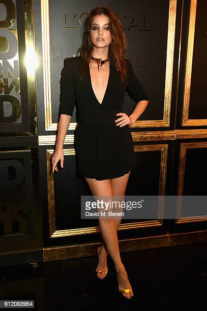 Barbara Palvin attends the L'Oreal Paris Gold Obsession Party at Hotel de la Monnaie on October 2 2016 in Paris France