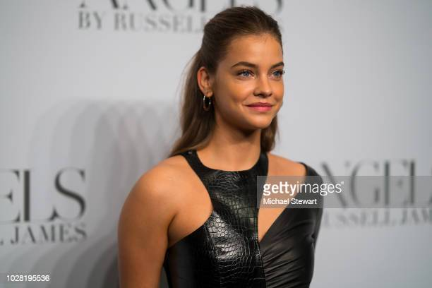 Barbara Palvin attends the Russell James 'Angels' book launch & exhibit at Stephan Weiss Studio on September 6, 2018 in New York City.