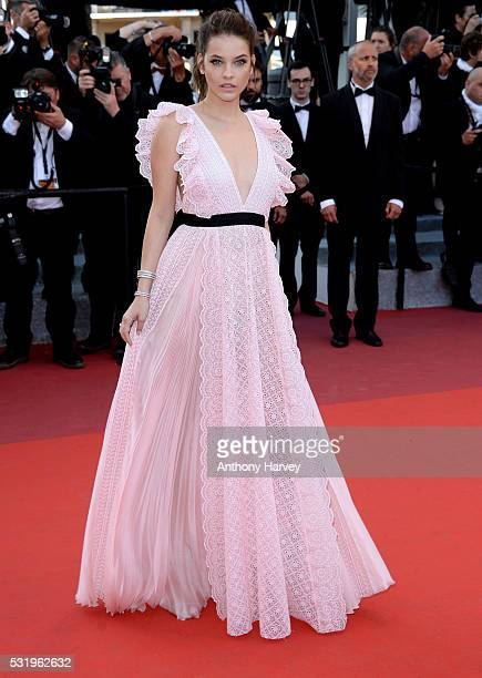 Barbara Palvin attends the screening of 'Julieta' at the annual 69th Cannes Film Festival at Palais des Festivals on May 17 2016 in Cannes France