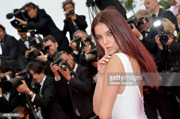 Barbara Palvin attends 'The Search' premiere during the 67th Annual Cannes Film Festival on May 21 2014 in Cannes France