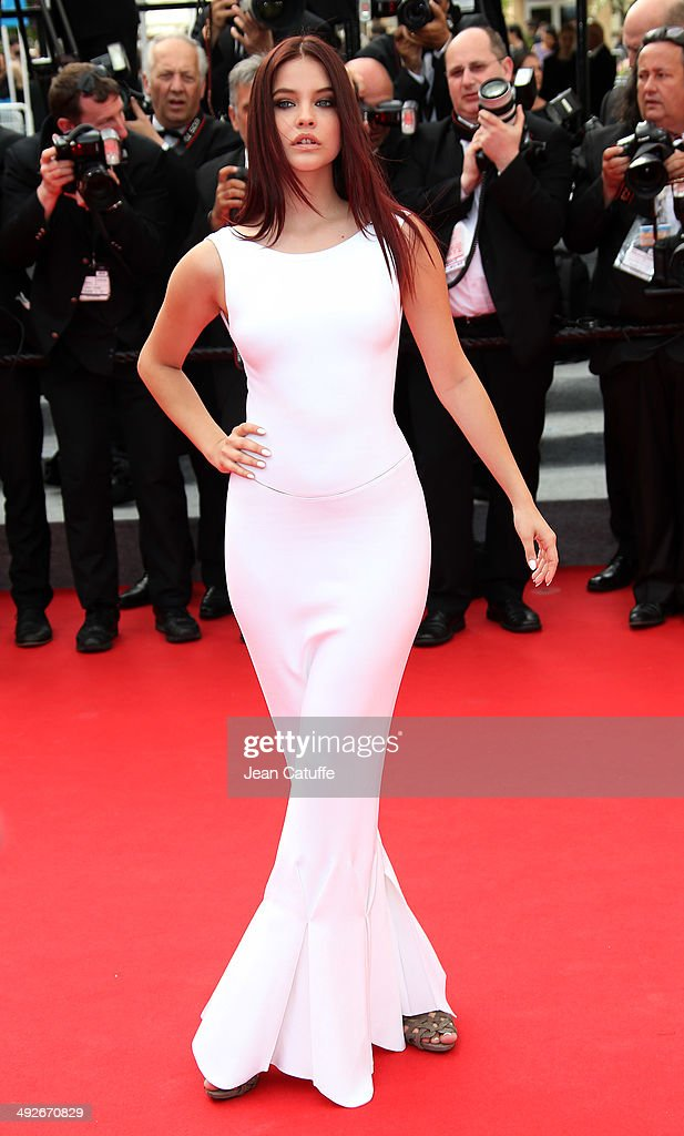 Barbara Palvin attends 'The Search' premiere during the 67th Annual Cannes Film Festival on May 21, 2014 in Cannes, France.