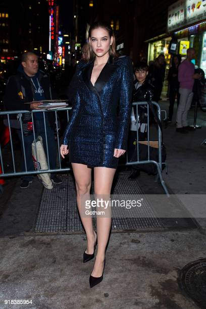 Barbara Palvin attends the Sports Illustrated Swimsuit 2018 launch event at the Moxie Hotel on February 14 2018 in New York City