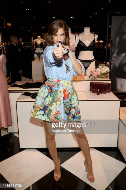 Barbara Palvin attends Victoria's Secret Debut of the New Fall Collection on August 08 2019 in Miami Florida