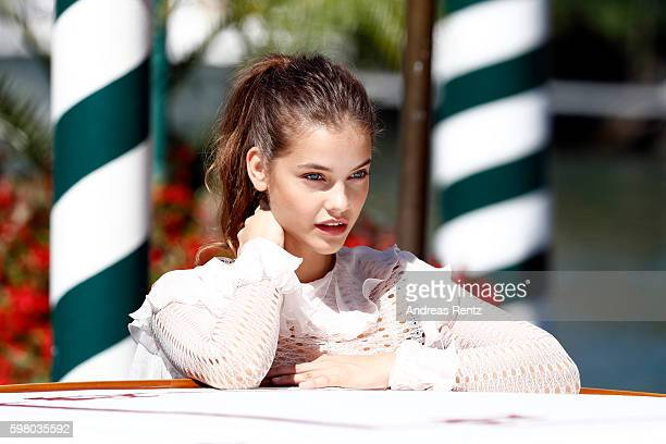 Barbara Palvin is seen during the 73rd Venice Film Festival on August 31 2016 in Venice Italy