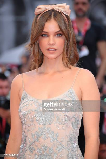 """Barbara Palvin walks the red carpet ahead of the """"Joker"""" screening during the 76th Venice Film Festival at Sala Grande on August 31, 2019 in Venice,..."""