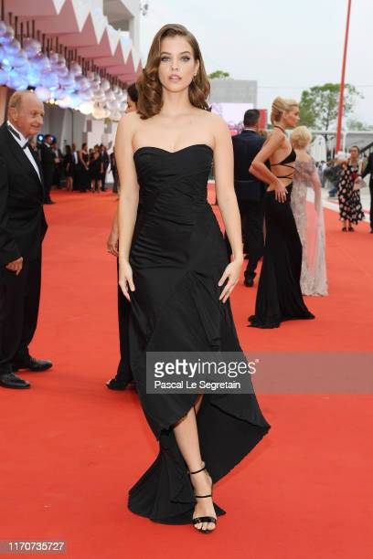 """Barbara Palvin walks the red carpet ahead of the Opening Ceremony and the """"La Vérité"""" screening during the 76th Venice Film Festival at Sala Grande..."""
