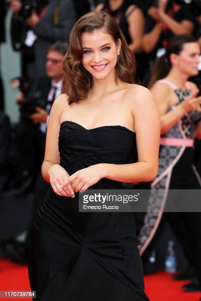 Barbara Palvin walks the red carpet ahead of the Opening Ceremony and the La Vérité screening during the 76th Venice Film Festival at Sala Grande on...
