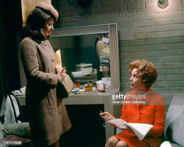 Barbara Parkins and Susan Hayward in 'Valley Of The Dolls', directed by Mark Robson, 1967.