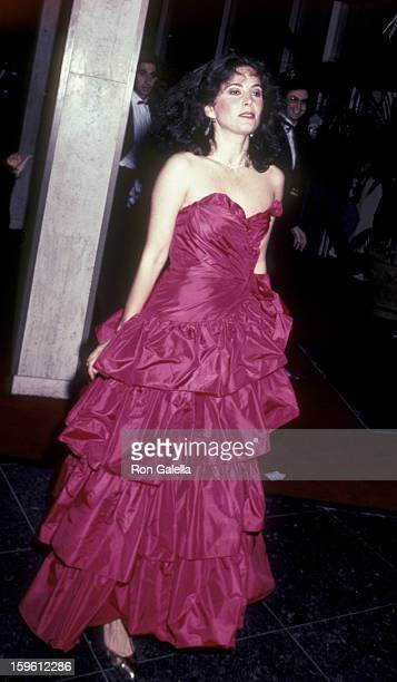 Barbara Parkins attends 40th Annual Golden Globe Awards on January 29 1983 at the Beverly Hilton Hotel in Beverly Hills California