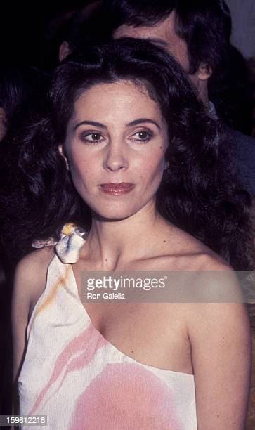 Barbara Parkins attends Fourth Annual American Film Institute Lifetime Achievement Awards Honoring William Wyler on March 9 1976 at the Century Plaza...