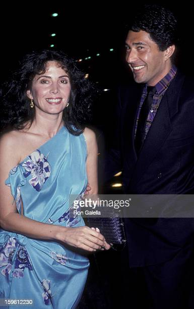 Barbara Parkins attends the opening of La Cage Aux Folles on April 8 1981 in West Hollywood California