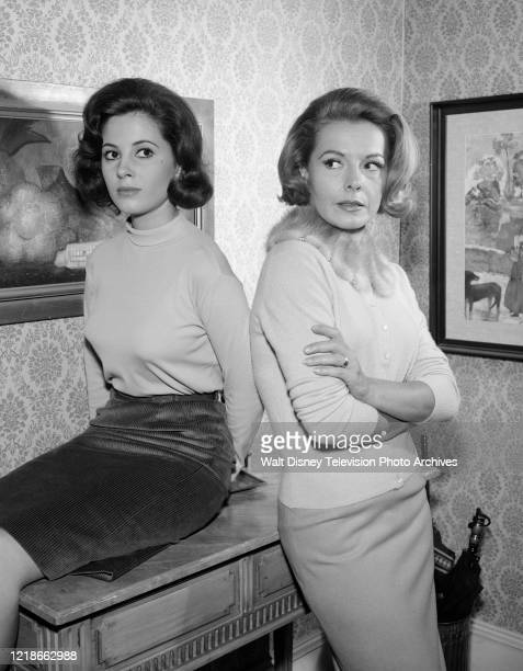 Barbara Parkins, Kasey Rogers appearing in the ABC tv series 'Peyton Place', episodes & #28.