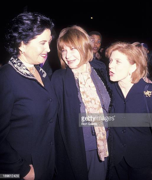 Barbara Parkins Lee Grant and Patty Duke attend the screening of Valley of the Dolls on February 16 2000 at the Chelsea Clearview Cinema in New York...