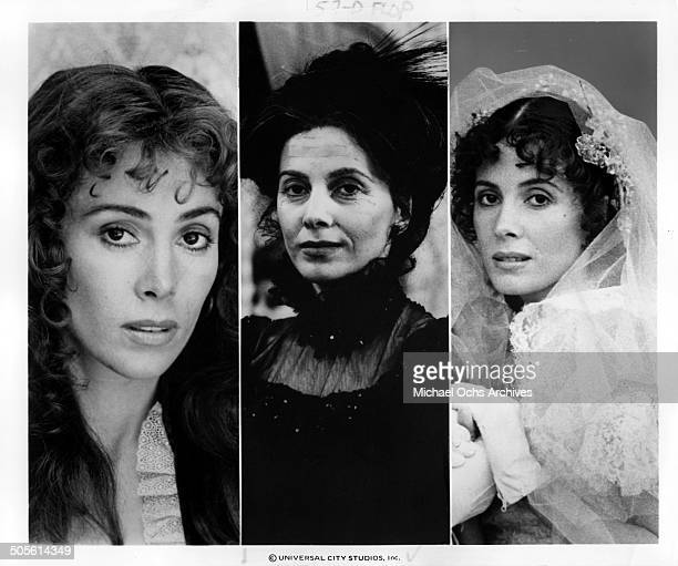 Barbara Parkins Linda Purl and Margaret O'Brien poses in scenes for the TVMini Series Testimony of Two Men circa 1977