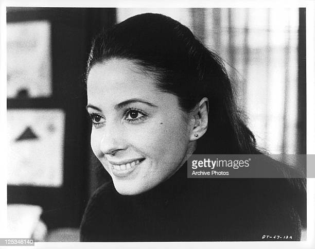 Barbara Parkins smiles in a scene from the film 'The Deadly Trap' 1971