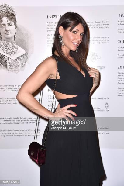 Barbara Pedrotti attends a dinner for 'Damiani Un Secolo Di Eccellenza' at Palazzo Reale on March 21 2017 in Milan Italy