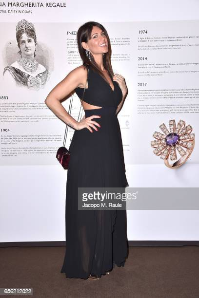 Barbara Pedrotti attends a dinner for 'Damiani Un Secolo Di Eccellenza' at Palazzo Reale on March 21 2017 in Milan Italy